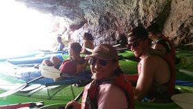 Inside Emerald Cave