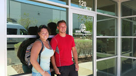 Jackie and Ryan from Blazin Paddles took us on a fun kayaking adventure we won't forget