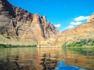 kayak Colorado river