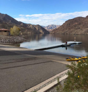 Hot To Launch A Kayak at the Hoover Dam