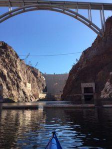 Hoover dam kayak tours